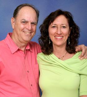 Deborah and Norman Hoffman