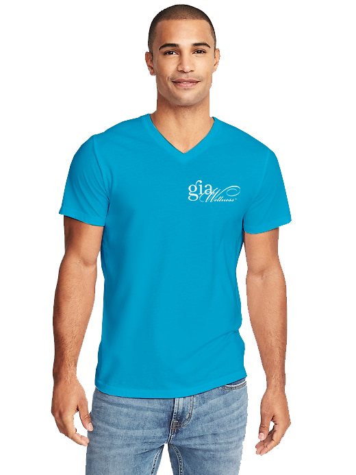 GIA_Turquoise-Men_V-Neck_WHITE