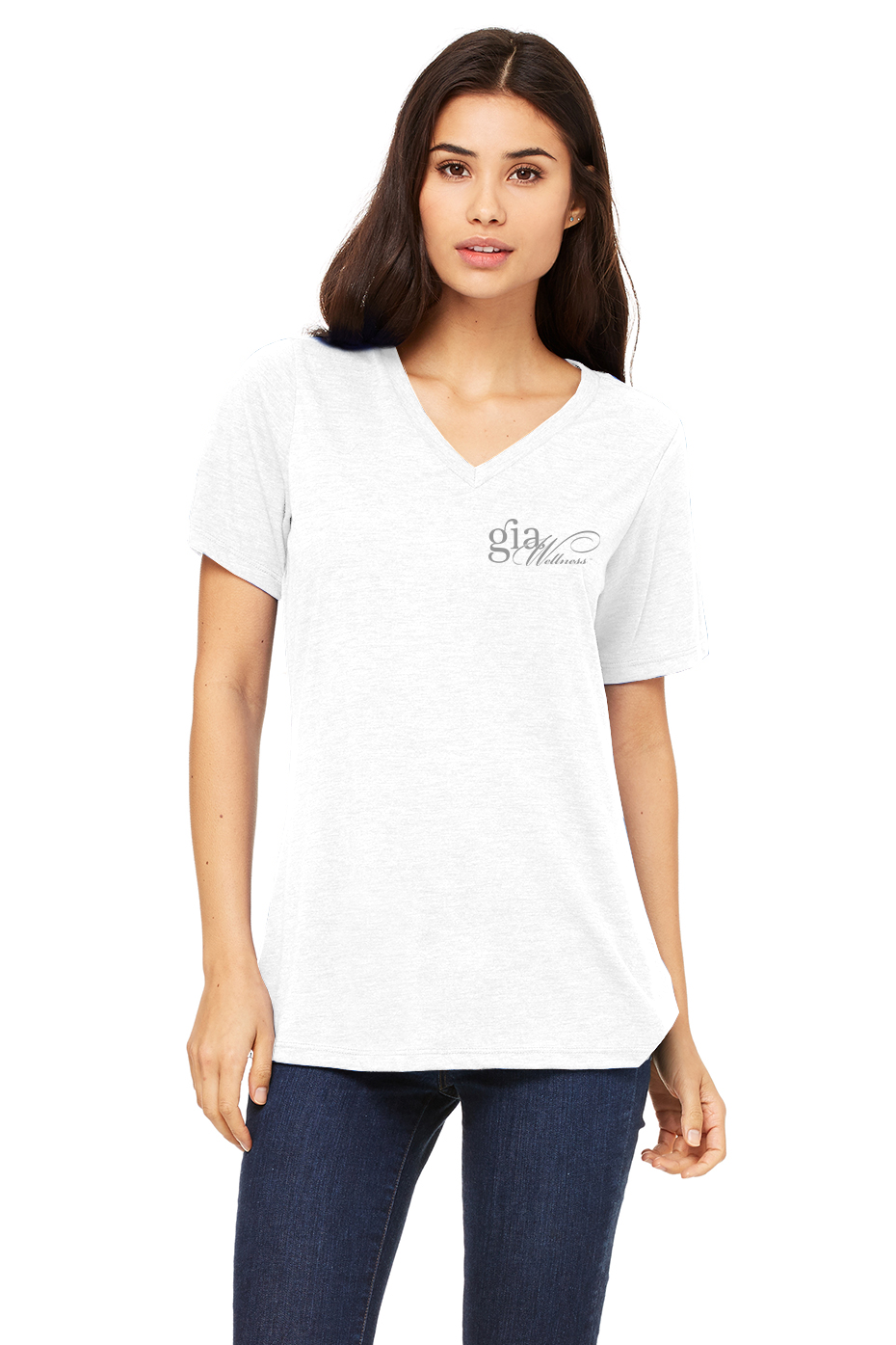 GIA_White-Ladies_V-Neck_GRAY