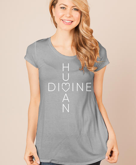 MOCKUP_HumanDivine_GRAY-Shirt_Scoop_WHITE